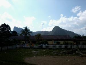 SMP baru di belakang SD